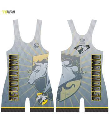 custom sublimation wrestling singlets
