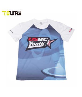 custom sublimation bowling shirts