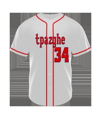 custom sublimation baseball jerseys