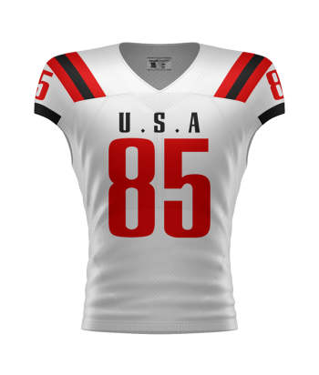 custom sublimation team flag football jerseys
