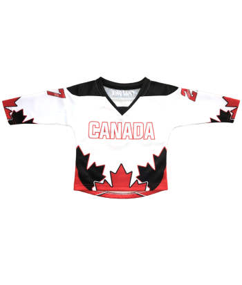 custom sublimation baby hockey jerseys
